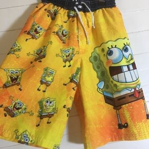 Nickelodeon Sponge Bob Swim Trunks Board Shorts